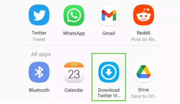 Cómo descargar videos de Twitter en un teléfono o tablet Android