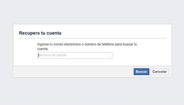 recuperar una cuenta de Facebook eliminada