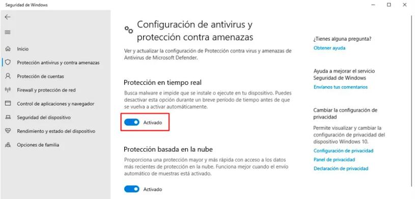 Cómo deshabilitar el antivirus de Microsoft Defender temporalmente